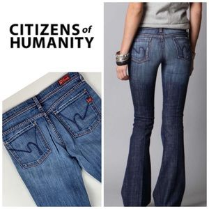 CItizens of Humanity Ingrid Low Waist Flare👖